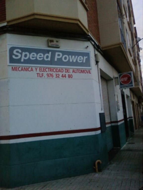 SPEED POWER en Zaragoza