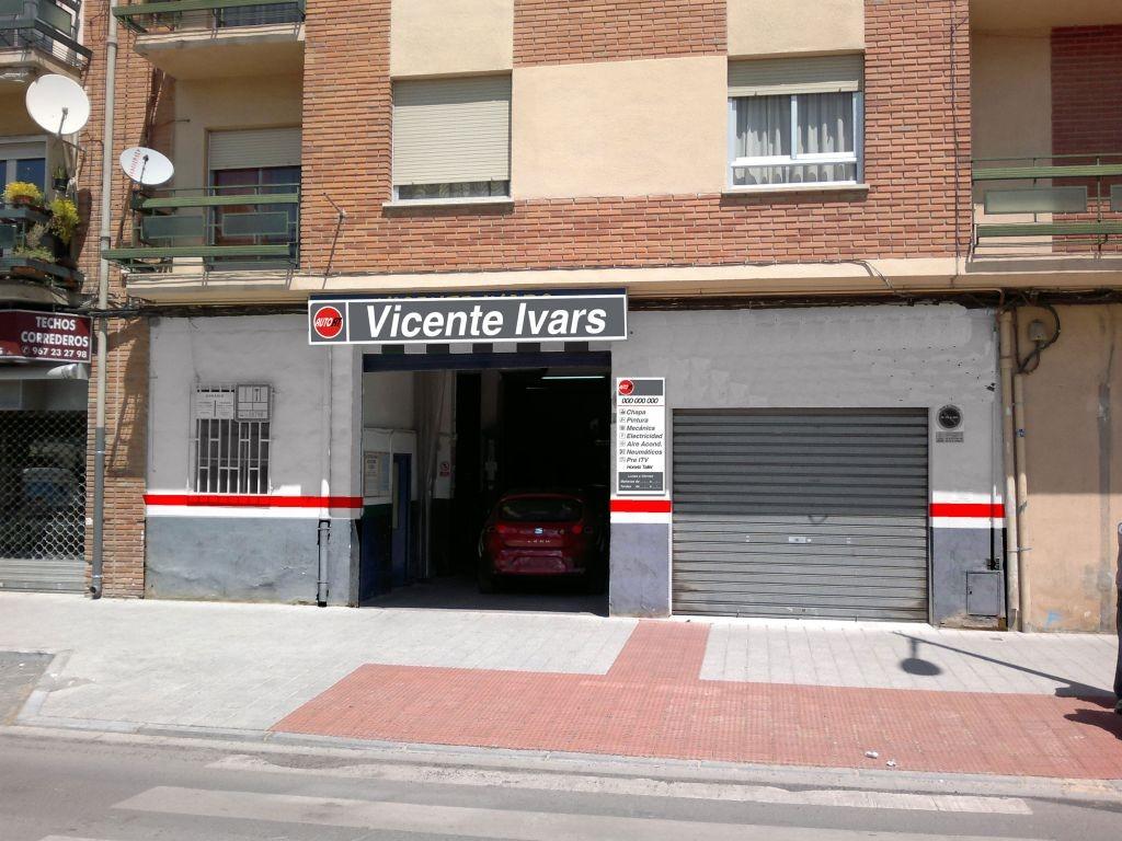 TALLERES VICENTE IVARS CHAPA en Albacete title=