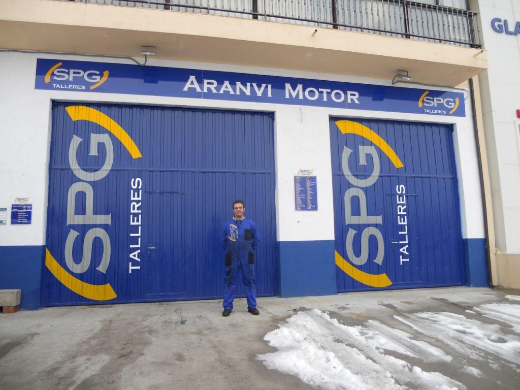 ARANVI MOTOR en Ávila