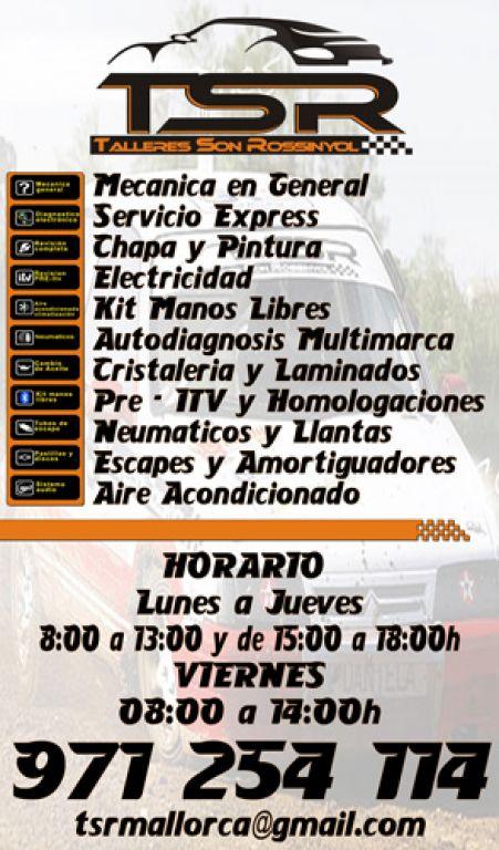 TSR MALLORCA en Palma de Mallorca title=