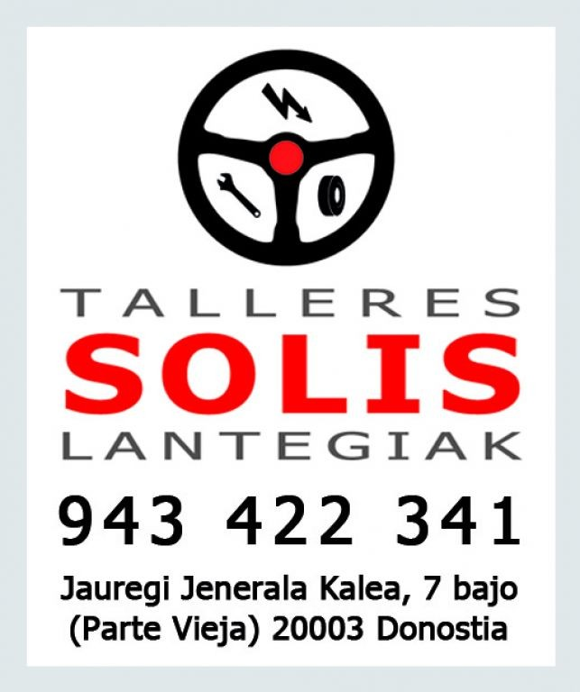 TALLERES SOLÍS en Donostia-San Sebastián