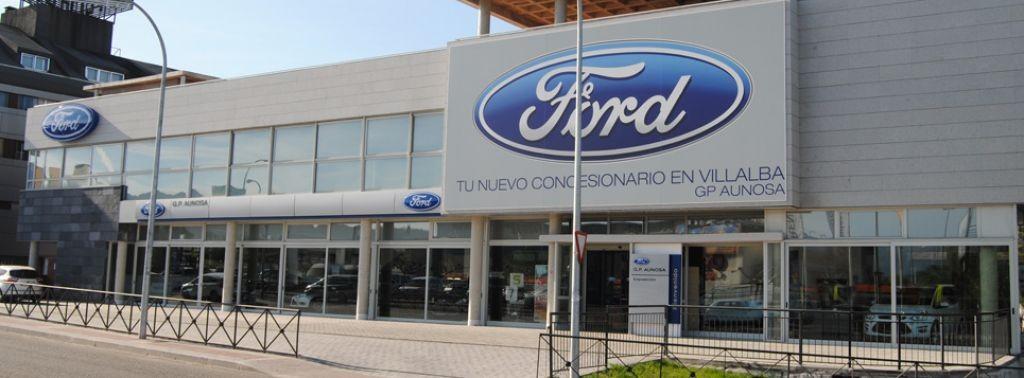 Ford GP Aunosa en Collado Villalba