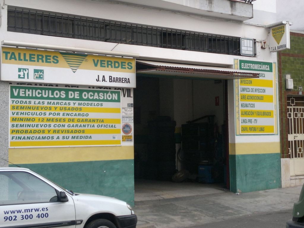 TALLERES.J.A. BARRERA en Badajoz
