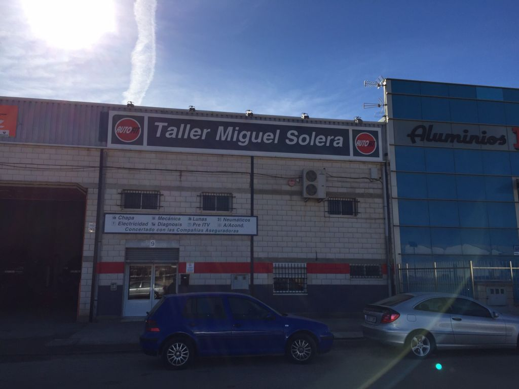 TALLER MIGUEL SOLERA en Tarancón title=