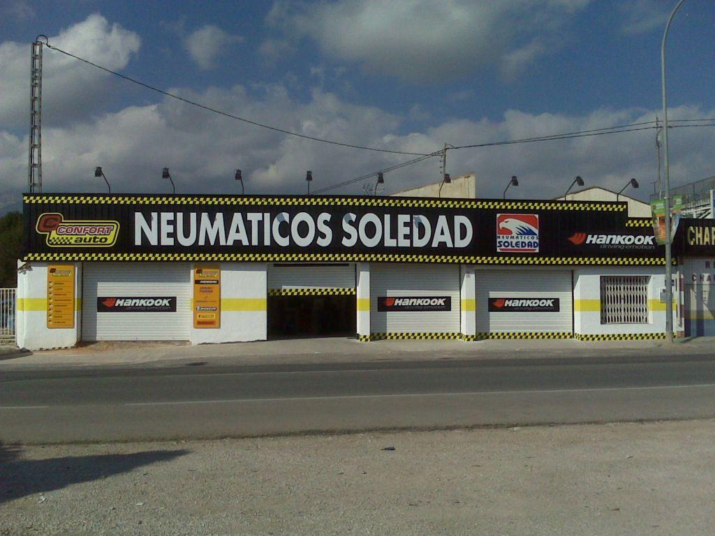 Neumaticos Soledad S.L en Benidorm title=