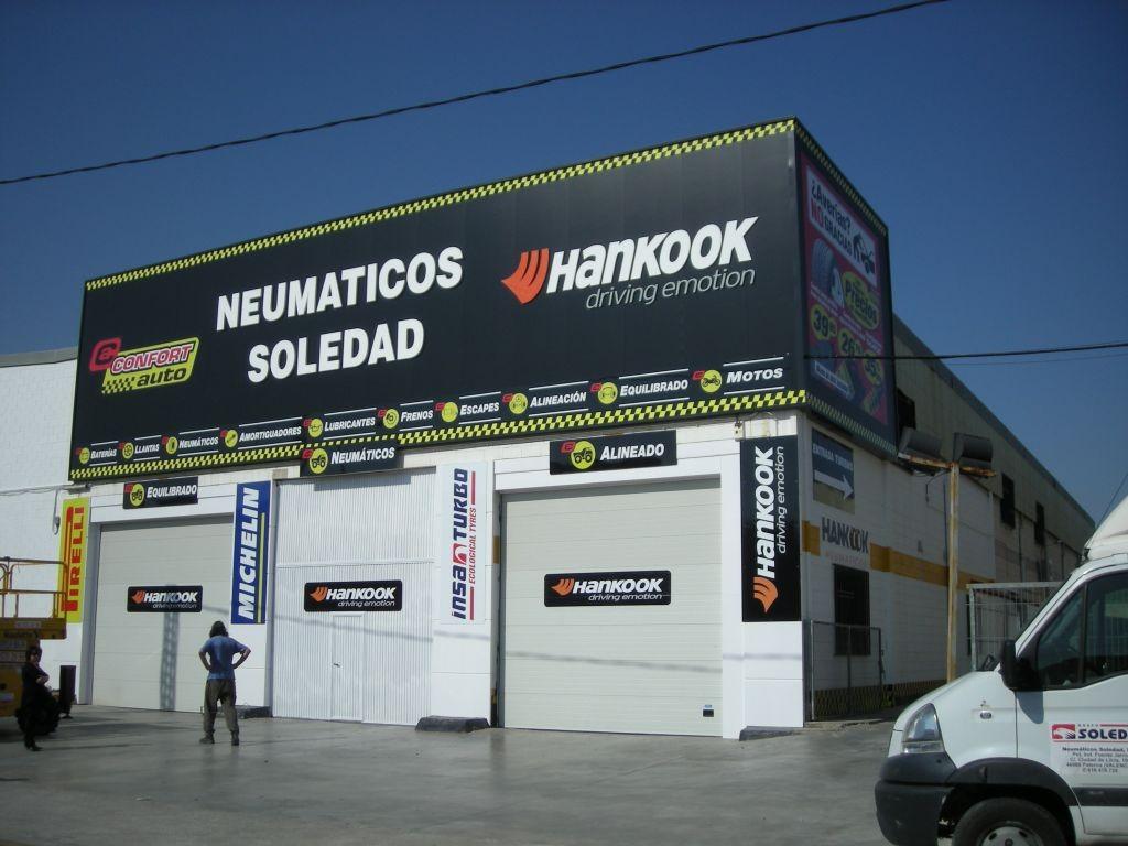 Neumaticos Soledad S.L en Paterna