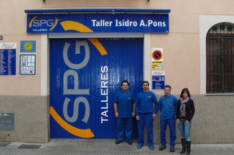 TALLER ISIDRO A. PONS