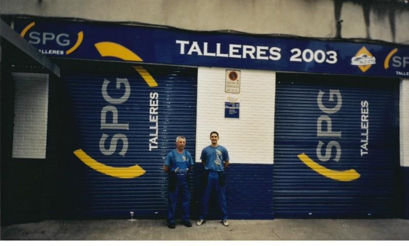 Talleres 2003 en Sevilla