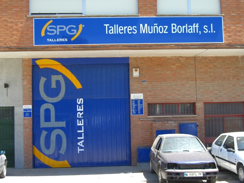 Talleres Muñoz Borlaff en Torrejón de Ardoz