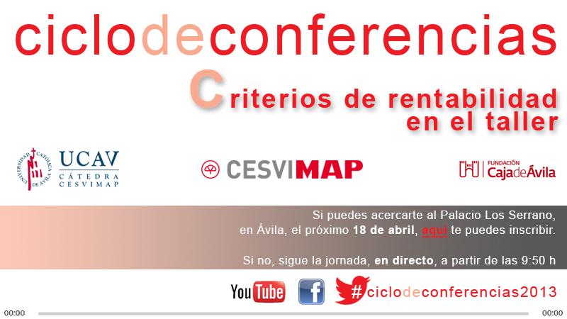 Conferencia Cesvimap streaming