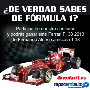Concurso «¿Cuánto sabes de Fórmula 1?»