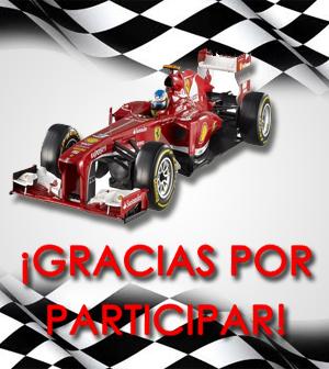 ¡Finalizado nuestro concurso de Fórmula 1!